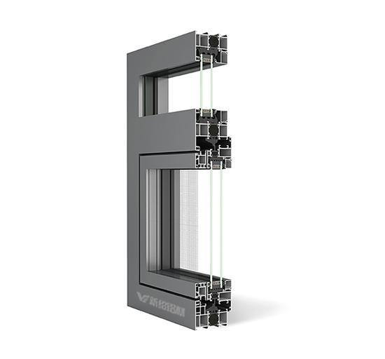 80系统窗型材