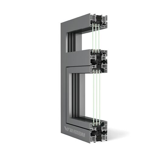 100系统窗型材