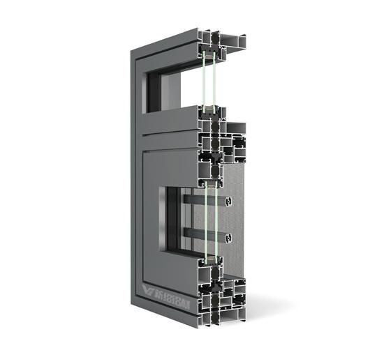 120系统窗型材