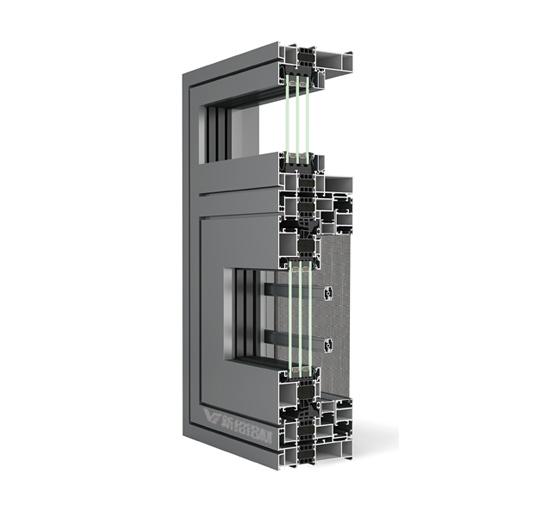 130系统窗型材