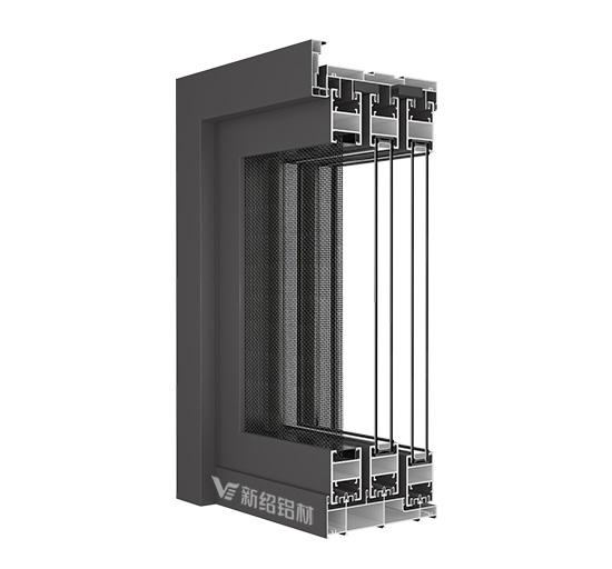 广东68折叠门型材