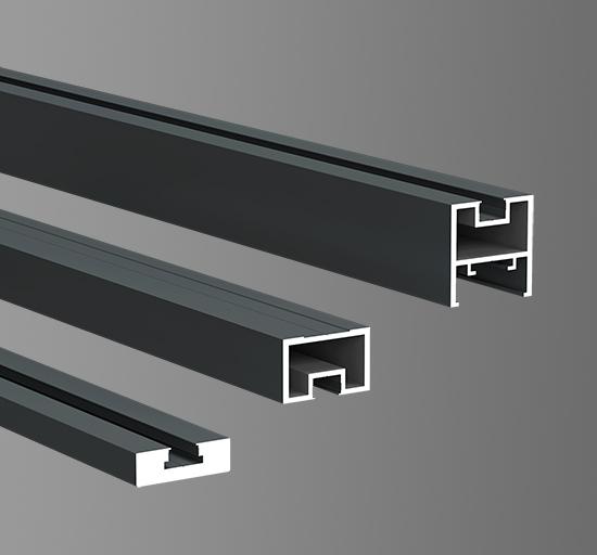 40极窄平开门型材12.7mm