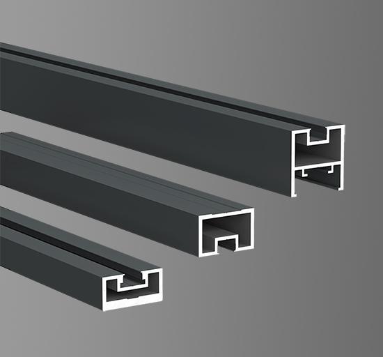 40极窄平开门型材19.5mm